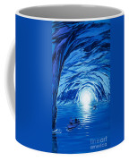 The Blue Grotto In Capri By Mcbride Angus  Coffee Mug