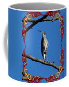 The Blue Heron Claimed He Was Framed Coffee Mug