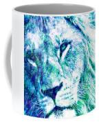 The Blue Lion Coffee Mug