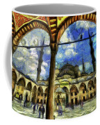 The Blue Mosque Istanbul Art Coffee Mug