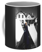 The Blue Of War At The Cottage Coffee Mug