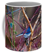 The Blue Of Winter In The Woods Coffee Mug