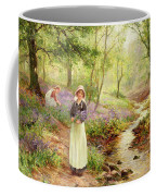 The Bluebell Glade Coffee Mug by Ernest Walbourn