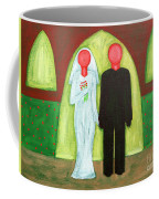 The Blushing Bride And Groom Coffee Mug