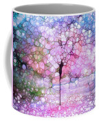The Blushing Tree In Bloom Coffee Mug