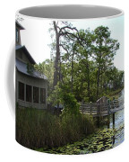The Boathouse At Watercolor Coffee Mug by Megan Cohen