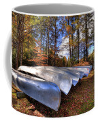 The Boats At Woodcraft Camp Coffee Mug