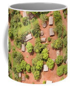 The Border Town Village Of Bangassou Coffee Mug