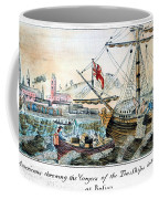 The Boston Tea Party, 1773 Coffee Mug