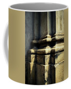 The Bottom Of The Pillar Of The Old Building Coffee Mug