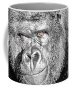 The Bouncer Gorilla Coffee Mug by David Millenheft