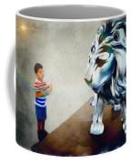 The Boy And The Lion 10 Coffee Mug