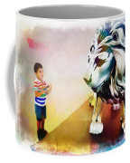 The Boy And The Lion 11 Coffee Mug
