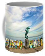 The Boy On The Seahorse Pano Coffee Mug