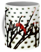 The Branches Naked By Wind And Rain. Coffee Mug