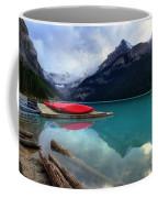 The Breathtakingly Beautiful Lake Louise Iv Coffee Mug
