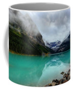 The Breathtakingly Beautiful Lake Louise Vi Coffee Mug