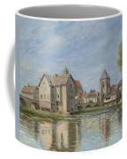 The Bridge And Mills Of Moret Sur Loing Coffee Mug