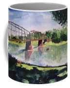 The Bridge At Ft. Benton Coffee Mug by Andrew Gillette