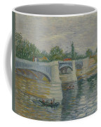 The Bridge At Courbevoie Paris, May - July 1887 Vincent Van Gogh 1853  1890 Coffee Mug
