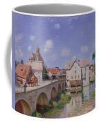The Bridge At Moret Coffee Mug