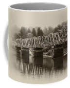 The Bridge At Washingtons Crossing Coffee Mug by Bill Cannon
