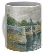The Bridge Of Courbevoie, Paris Coffee Mug