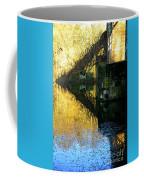 The Bridge On The River And Its Shadow. Coffee Mug