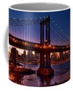 The Bridges At Dusk Coffee Mug