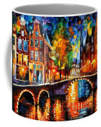 The Bridges Of Amsterdam Coffee Mug