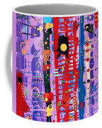 The Bright Red Ladder To Success Coffee Mug