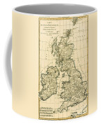 The British Isles Coffee Mug by Guillaume Raynal