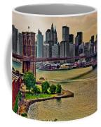 Vintage Brooklyn Bridge Coffee Mug