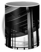 The Brooklyng Bridge And Manhattan Bridge From Fdr Drive Coffee Mug