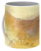 The Brunig Pass From Meiringen Coffee Mug