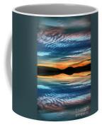 The Brush Strokes Of Evening Coffee Mug