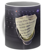 The Bucket List Coffee Mug