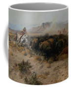 The Buffalo Hunt Coffee Mug by Charles Russell