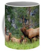 The Bugling Bull Elk Coffee Mug