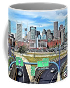 The Buildings Of Boston Coffee Mug