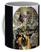 The Burial Of The Count Of Orgaz 1587 Coffee Mug