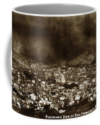 The Burning Of San Francisco Panoramic View Of San Francisco From Twin Peaks April 1906 Coffee Mug