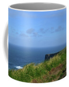 The Burren Pathway Along The Cliff's Of Moher Coffee Mug