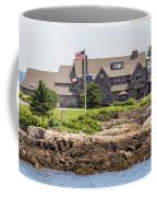 The Bush Compound Kennebunkport Maine Coffee Mug