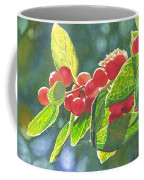 The Bush With The Red Berries Coffee Mug
