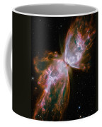 The Butterfly Nebula Coffee Mug by Stocktrek Images