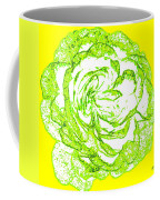 The Cabbage Rose Coffee Mug