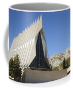 The Cadet Chapel At The U.s. Air Force Coffee Mug