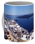 The Caldera, Santorini Coffee Mug