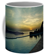 The Caldera View In Santorini Coffee Mug